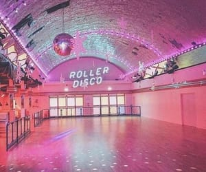 pink, vintage, and disco image