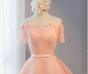 short prom dress and prom dress pink image
