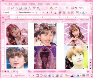 edit, hearts, and kpop image