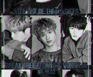 kpop, kpop edit, and stray kids wallpaper image