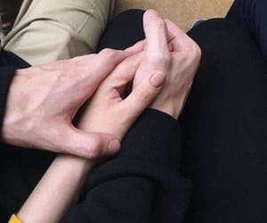 goals, couple, and hands image