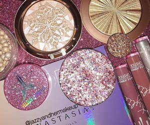 makeup, glitter, and cosmetics image