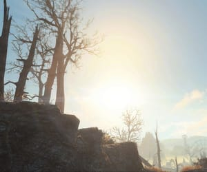 bright, outdoors, and wasteland image