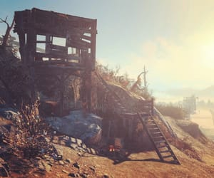 camp, fallout, and ruins image