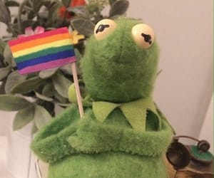 bisexual, green, and kawaii image