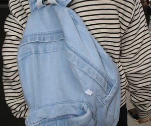 grunge, backpack, and denim image