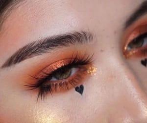 eyes, makeup, and girl image