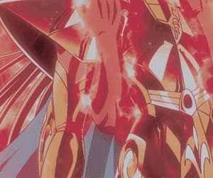 anime, Saint Seiya, and gif image