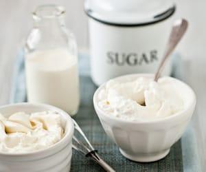 cream and sugar image
