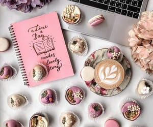 aesthetic, cappuccino, and pink image