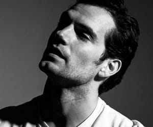 aesthetic, Henry Cavill, and black and white image