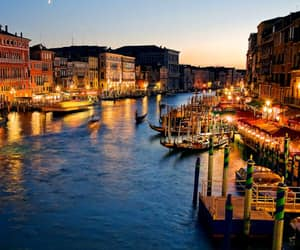 italy, lights, and romantic image