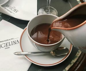 chocolate, drink, and style image
