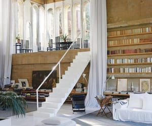 home, books, and design image