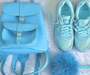 blue, classy, and shoes image
