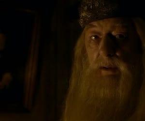 albus dumbledore, harry potter, and richard harris image