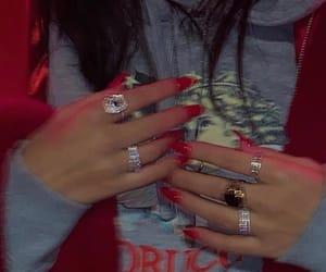 bitch, luna, and nails image