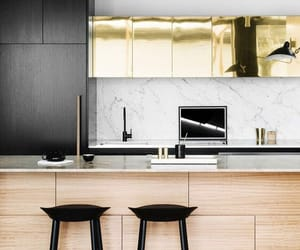 cabinets, chic, and home image