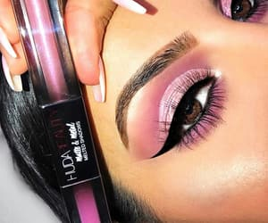 beautiful, eye liner, and stylé image