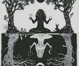 dark, light, and magic image