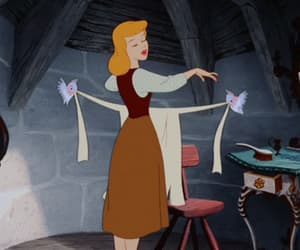 cinderella, disney, and gif image