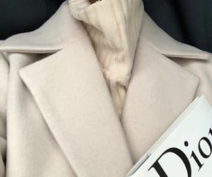 fashion, dior, and coat image
