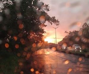 beautiful, pretty, and rain image