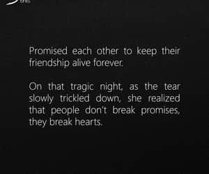 broken, broken heart, and friendship image