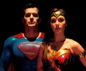 justice league, superwonder, and superman image