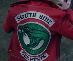 riverdale, serpents, and red image