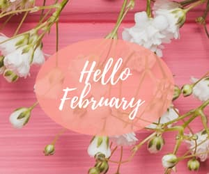 february, flower, and flowers image
