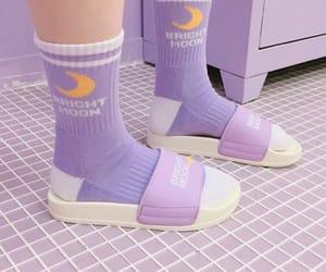 purple, aesthetic, and fashion image