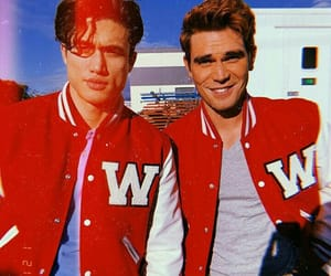 riverdale, charles melton, and kj apa image