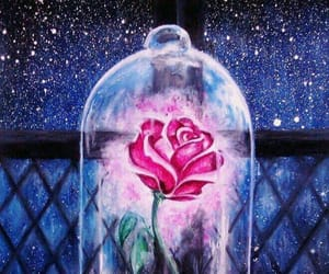 beauty and the beast, disney, and tales image