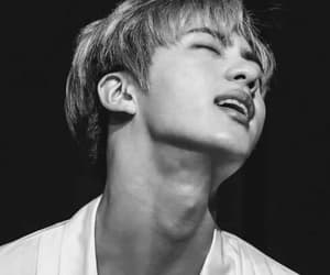 jin, kpop, and бтс image