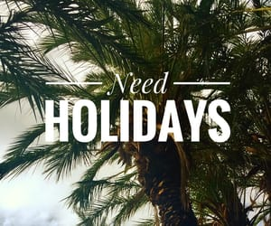 girl, holidays, and quote image