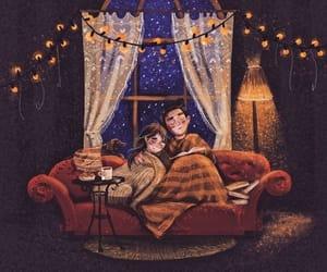 invierno, te, and sillón image