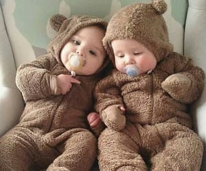 baby, cute, and twins image