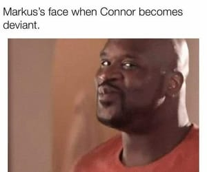 Connor, deviant, and funny image