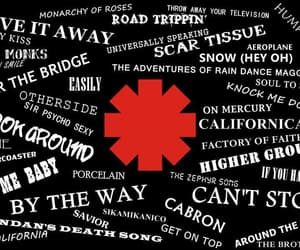 red hot chili peppers, rhcp, and songs image