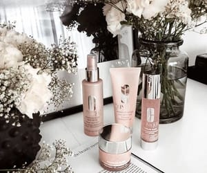 flowers and skincare image