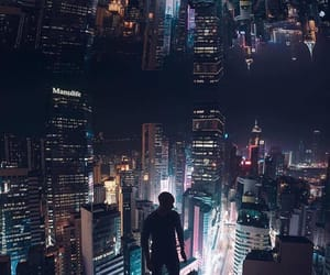 beautiful, cities, and lights image