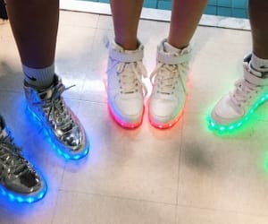 airforce, light up, and shoes image