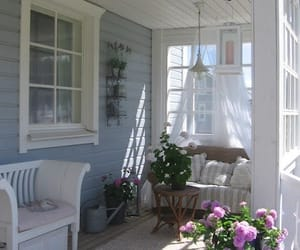 porch, rustic, and vintage image
