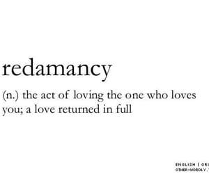 love, redamancy, and quotes image