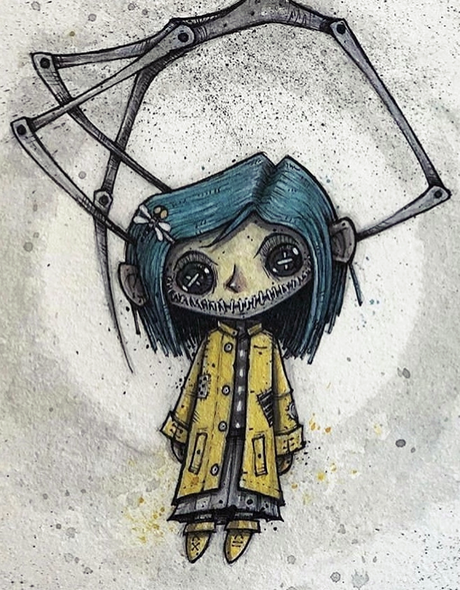 85 Images About Coraline On We Heart It See More About Coraline Movie And Coraline Jones