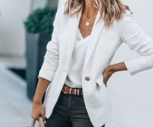 blazer, fashion, and jacket image