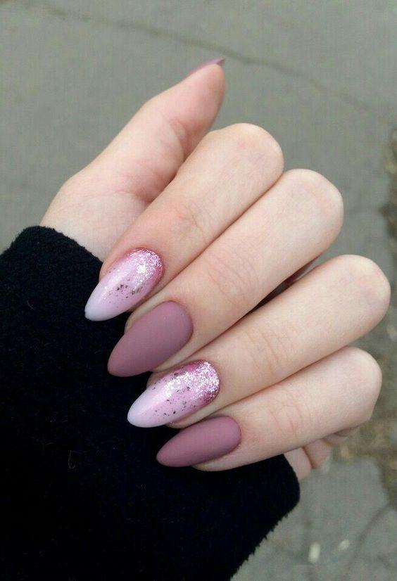 winter coffin nails; fall acrylic nails; Medium/long coffin