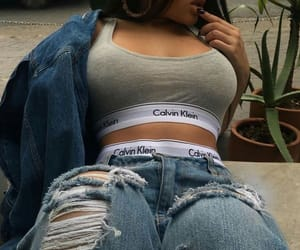 Calvin Klein, style, and body image