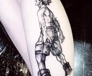 tatuagens, boku no hero, and midoriya image